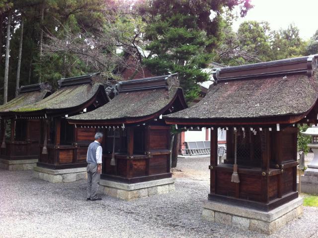 建部神社の末社