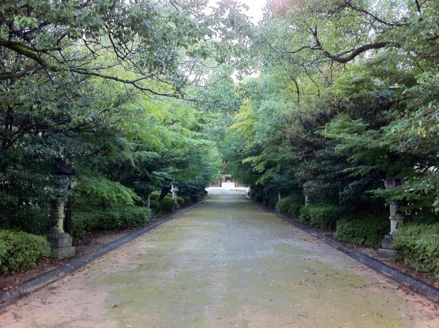 速谷神社の自然