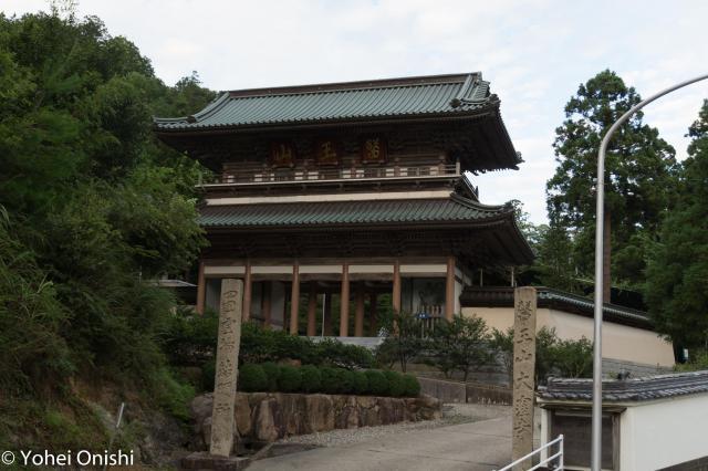香川県大窪寺の山門
