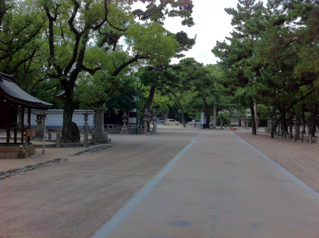 西宮神社の自然