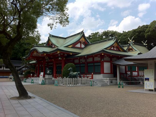兵庫県西宮神社の本殿