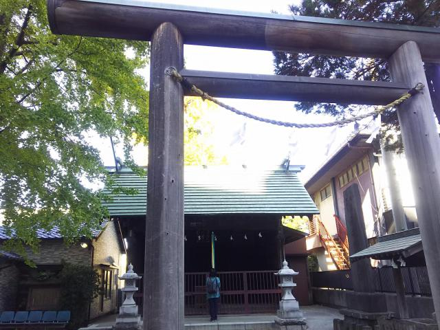 埼玉県神明宮(宿篠葉神明神社)の鳥居