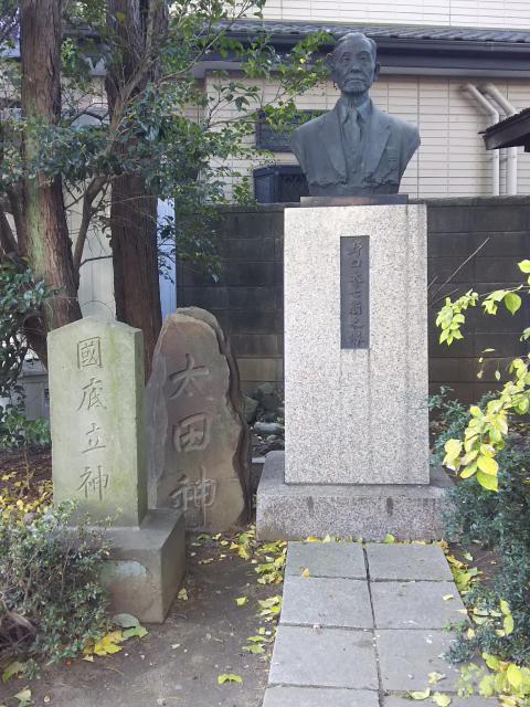 神明宮(宿篠葉神明神社)の像