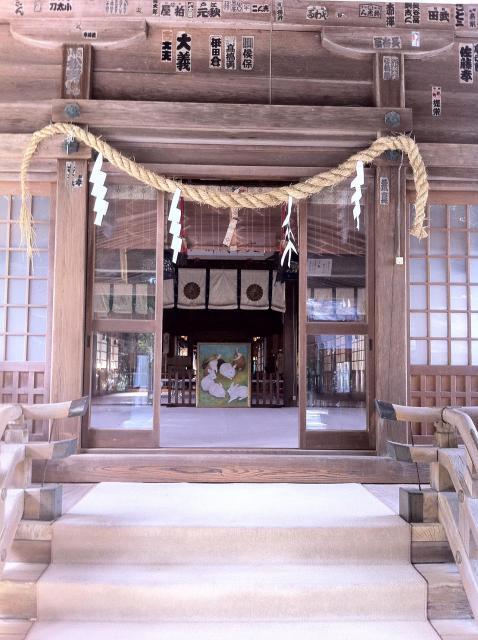 静岡県井伊谷宮の本殿