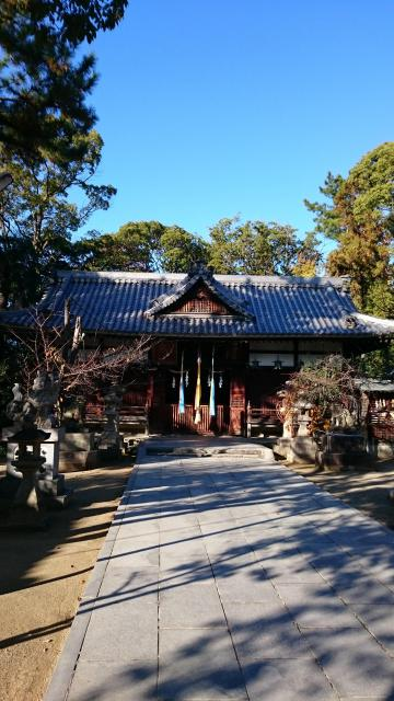 大阪府大津神社の本殿