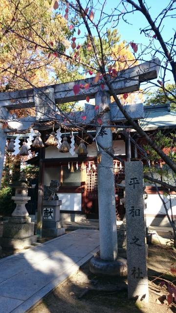 大阪府大津神社の鳥居