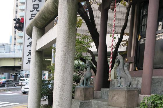 伏見三寳稲荷神社の鳥居
