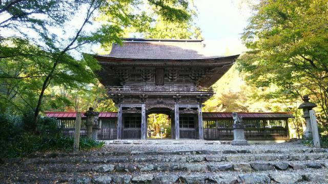 大矢田神社の山門