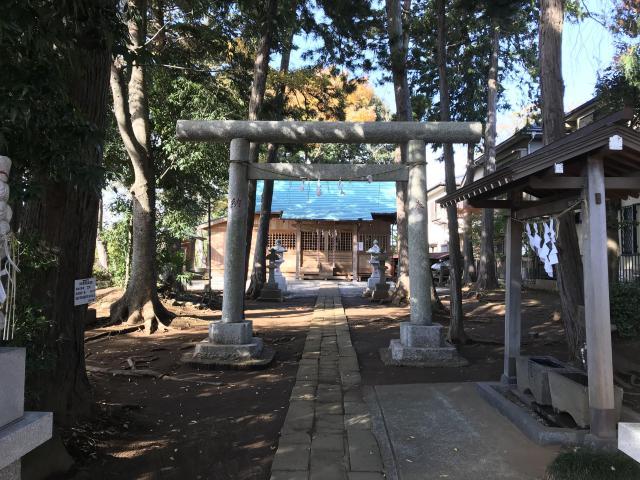 千葉県大原神社の鳥居