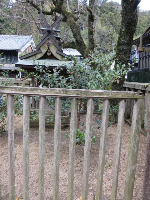 奈良県與喜天満神社の本殿