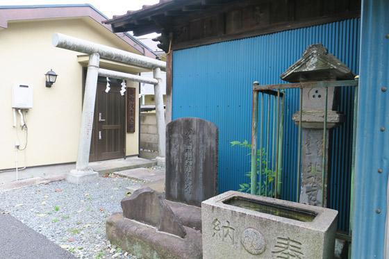 津島神社の手水