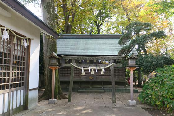 東京都熊野宮の鳥居