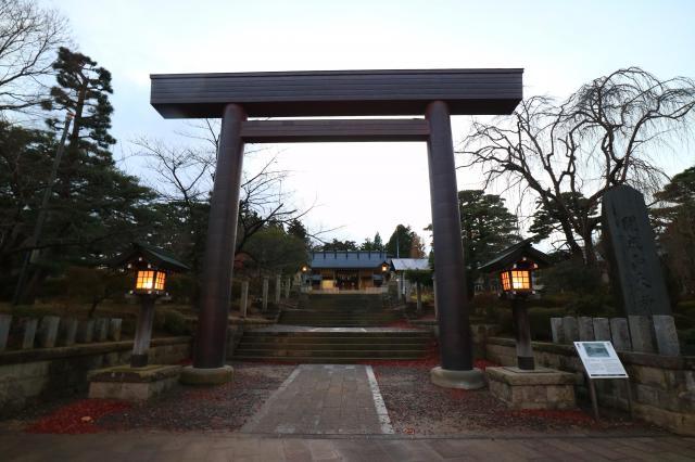 開成山大神宮(福島県郡山駅) - 鳥居の写真