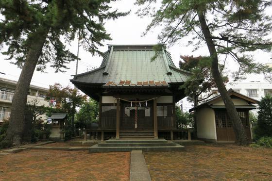 東京都東伏見氷川神社の本殿