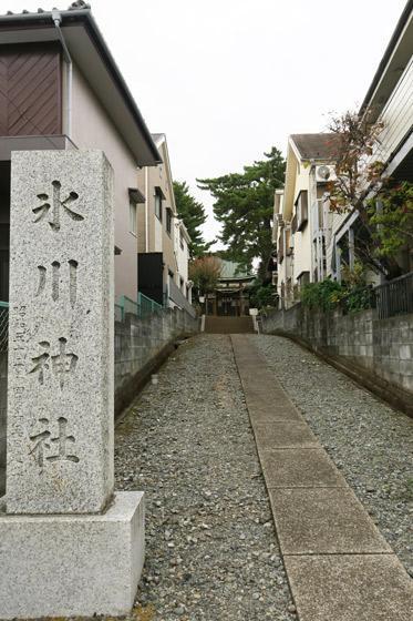 東京都東伏見氷川神社の景色