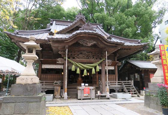 田無神社の本殿