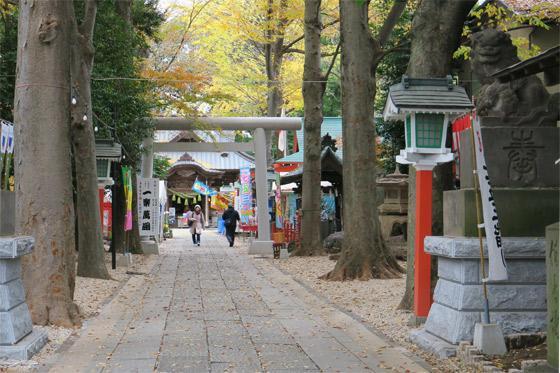田無神社の鳥居