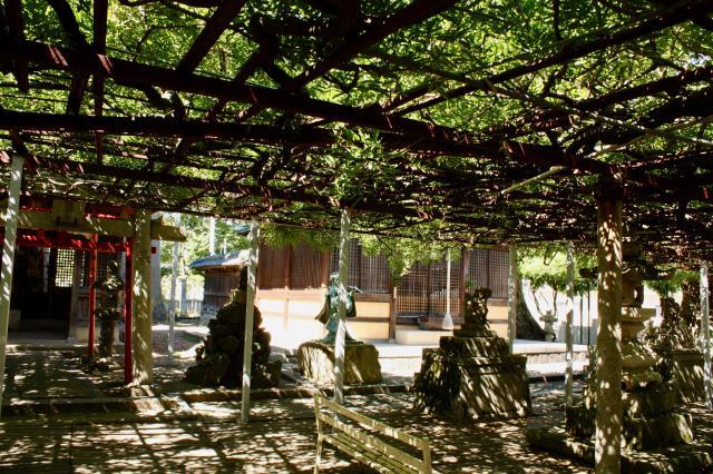 大歳神社の景色