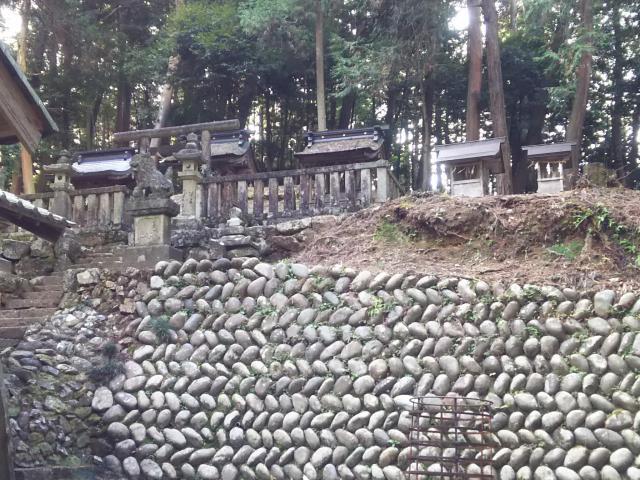 岐阜県大跡部神社の本殿