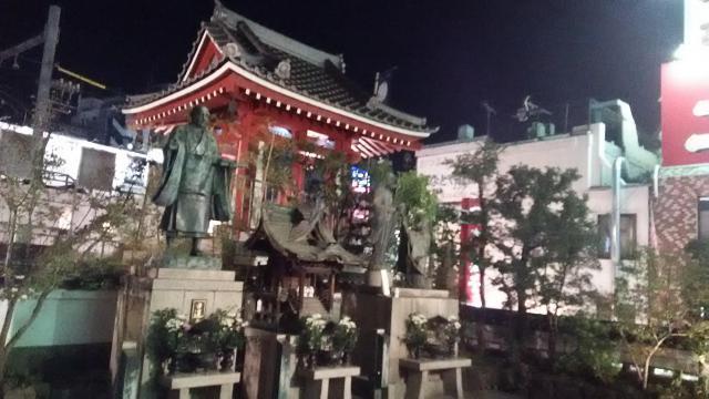 徳大寺(摩利支天)の像