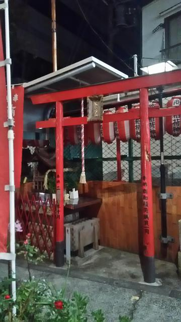商和稲荷神社の鳥居