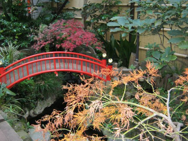 心城院の庭園