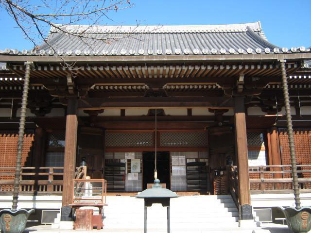 東京都輪王寺の本殿