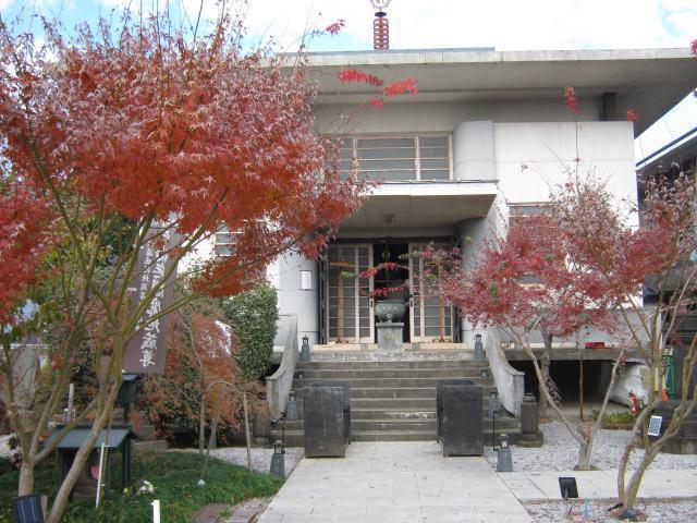 東京都浄名院の本殿