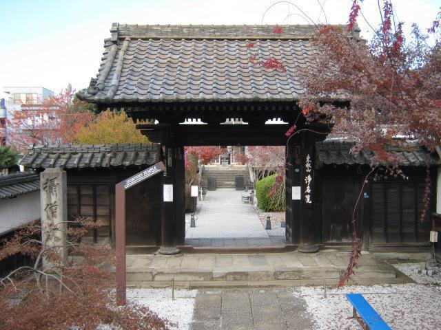 東京都浄名院の山門