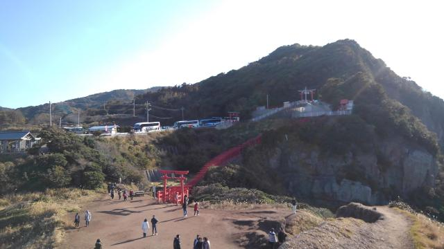 元乃隅神社の周辺