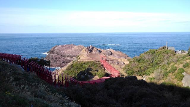 元乃隅神社の景色