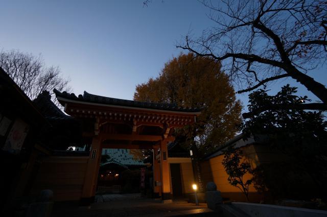 東漸寺の山門
