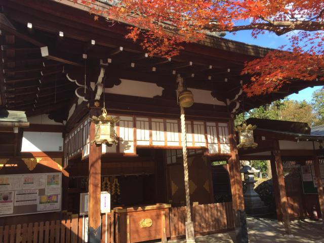 京都府車折神社の本殿