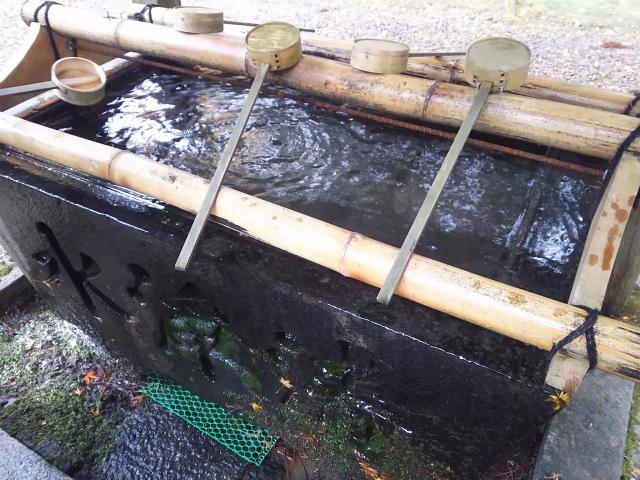 八幡神社(武芸八幡宮)の手水
