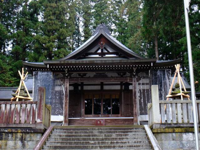 岐阜県気多若宮神社の本殿