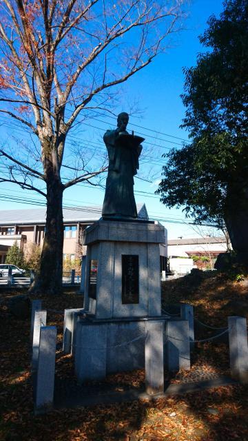 山梨県山縣神社の像