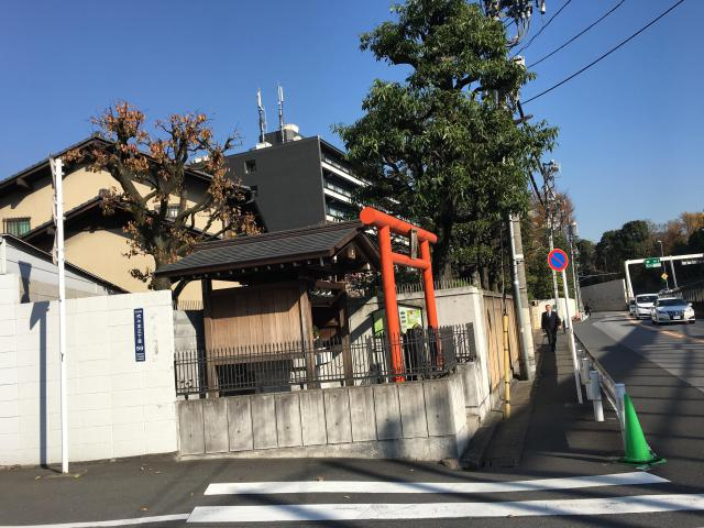 津島神社(東京都参宮橋駅) - 鳥居の写真