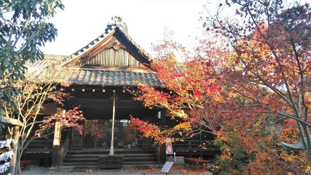 京都府勝林寺の本殿