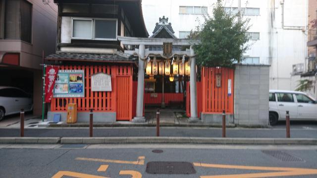 京都府繁昌神社の鳥居