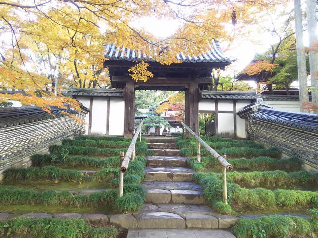 岐阜県清泰寺の山門