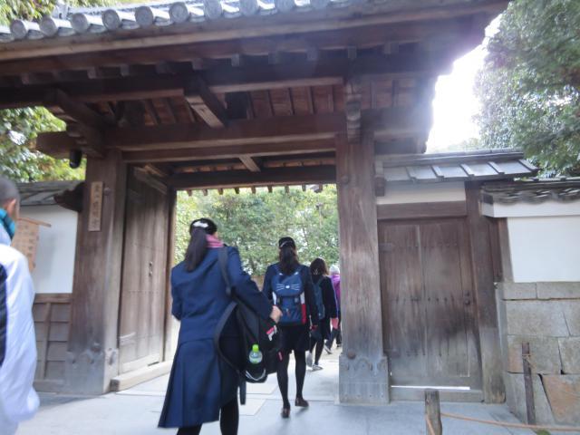 京都府慈照寺(銀閣寺)の山門