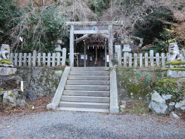 京都府大豊神社の鳥居