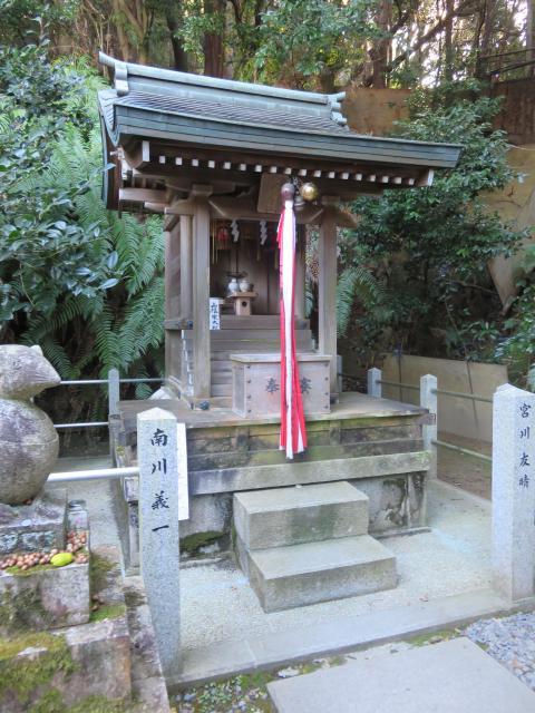 京都府大豊神社の本殿
