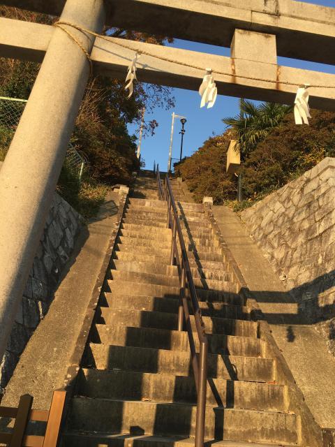 神奈川県琴平神社の鳥居