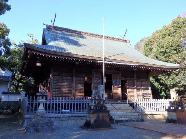愛知県菟足神社の本殿