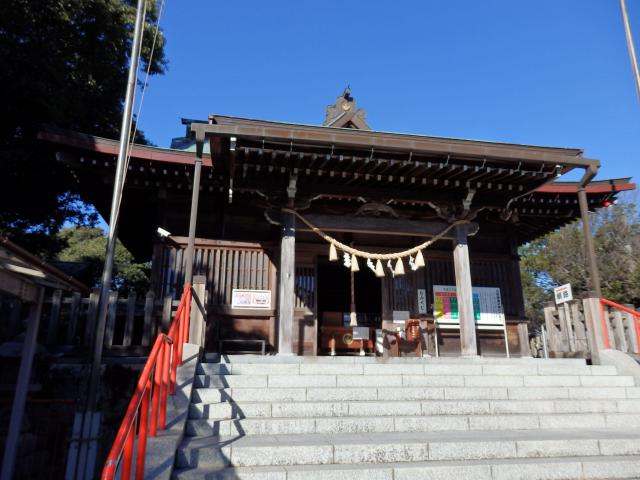 愛知県五社稲荷社の本殿