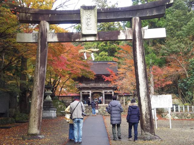 大矢田神社の鳥居