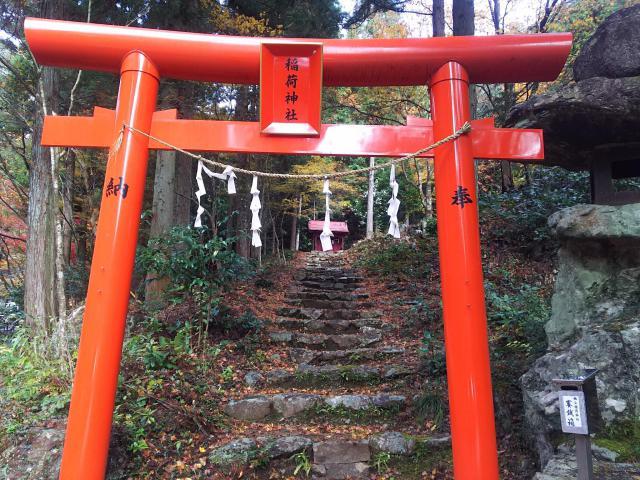 岐阜県大矢田神社の本殿