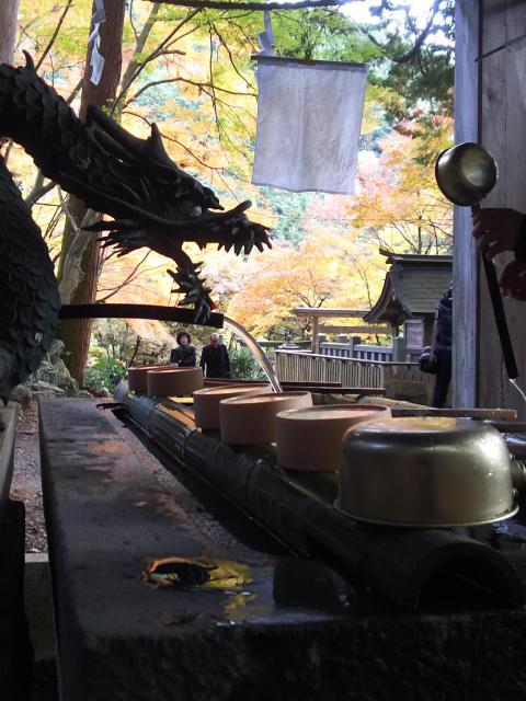 大矢田神社の手水