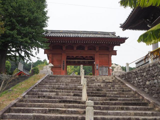 静岡県応声教院桜ケ池教会の山門